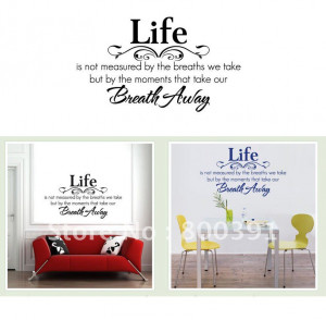one-pcs-quotes-house-decal-60-80cm-Vinyl-wall-stickers-Home-decorative ...