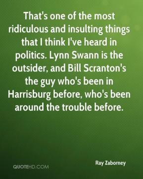 Ridiculous Quotes