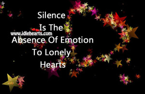 Silence The Absence Words...