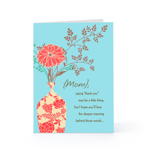 Thank You Card Sayings. Hallmark Quotes For Mom. View Original ...