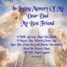 in memory of my dad more happy birthday my best friends birthday wish ...