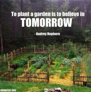 Tp plant a garden picture quotes image sayings