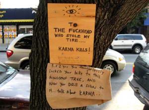 Karma Kills | Talk About Karma Signs