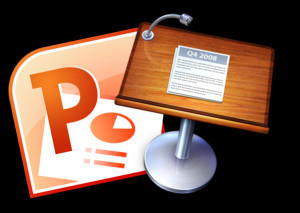 ... you can give PowerPoint presentations on you iPad. Click here for a