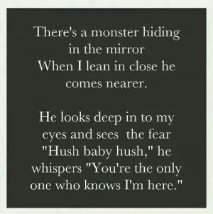 Yes, dear, my dear, I'm the only one who knows you, and so you are to ...