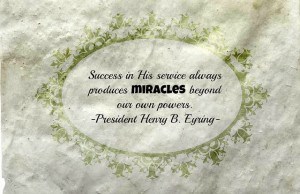 Success in Service - President Eyring by Cranial Hiccups, via Flickr