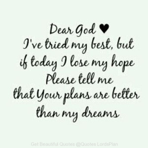 Do this Little prayer when you feel low - Quotes LordsPlan
