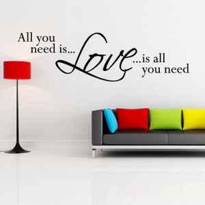 tweet need love wall quote wall stickers from abode wall art