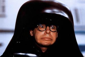 Rick Moranis jako Lord Mroczny Hełm