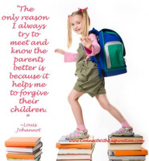 Go to a center fold picture quote on- Know The Parents Better To Help ...