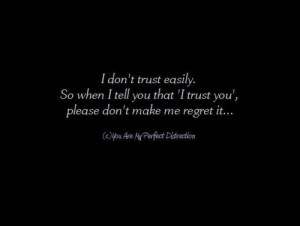 damon, quotes, regret, trust, typography