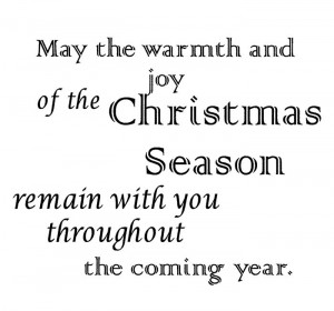 Meaning Christmas Sayings And Phrases For Cards 2014