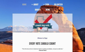 deal that would end the Count My Vote initiative petition drive to ...