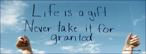quotes timeline cover life is a gift cover