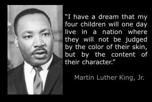 """Martin Luther King Quote about Science and Spirituality """"Let Freedom ..."""