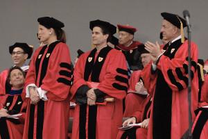 Boston University Commencement Photo Gallery