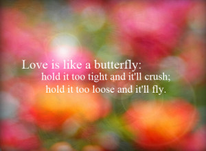 Look Like a Butterfly sting Like a bee – Butterfly Quote