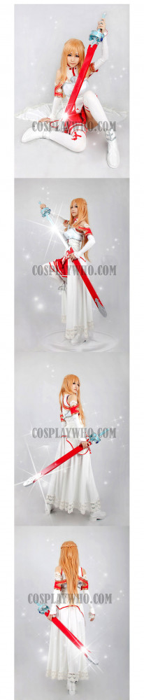 Sword Art Online Asuna / Asuna Yuuki Cosplay Costume