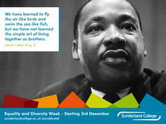 ... simple art of living together as brothers - Martin Luther King Jr More