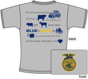 Vote for your favorite FFA Chapter T-shirt designs! http://shop.ffa ...