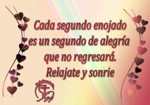 Relajate y Sonrie la vida es bella apesar de todas Sus Adversidades(;