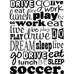 soccer_life_quote_funny_greeting_card.jpg?height=250&width=250 ...