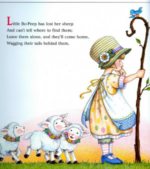Image from Mother Goose: 100 Best Loved Verses)