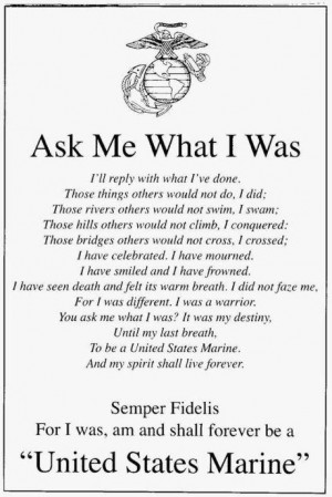 marine corps quotes for girlfriends