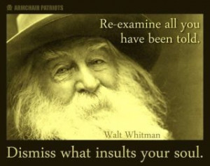Walt Whitman Quotes in Honor Of His Birthday