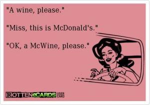 Mc wine - funny ecard at PMSLweb.com