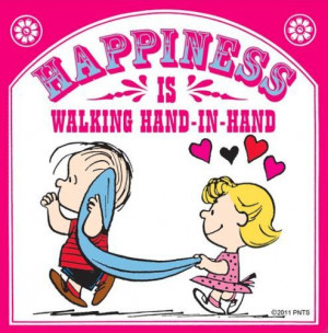 Happiness is Walking Hand in Hand
