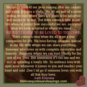 ... are the our own journey love quotes and sayingslove sayings Pictures