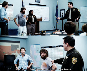 bradley cooper, funny, movie, quote, the hangover, zach galifianakis