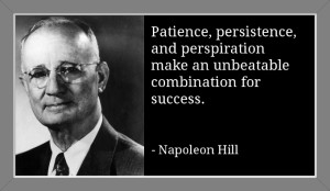 Napoleon Hill's Three P's To Success