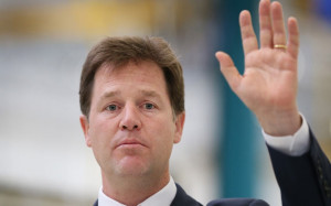 Nick Clegg Pandering Labour