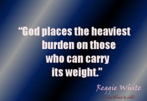 ... the heaviest burden on those who can carry its weight