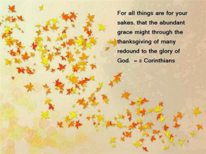 Religious Thanksgiving Quotes And Sayings ~ Happy thanksgiving! on ...