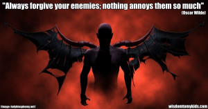 Funny quotes but true quotes about your enemies