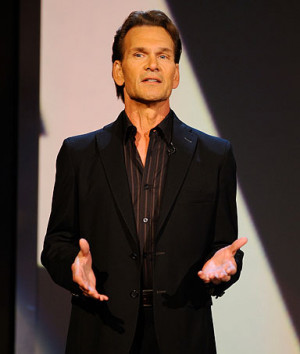 Patrick Swayze, actor, on his battle with pancreatic cancer