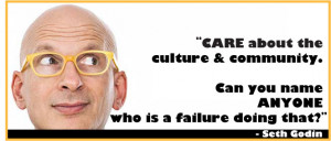 Seth Godin Quote from How Design Live 2014.