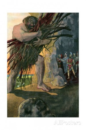 Pictures From the Book the Odyssey Cyclops