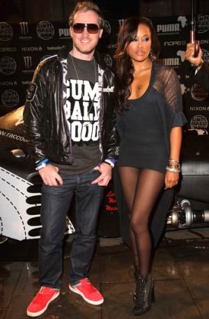 Rapper Eve & Maxillion Cooper