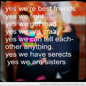 Advice, beautiful and best-friends more like sisters pictures