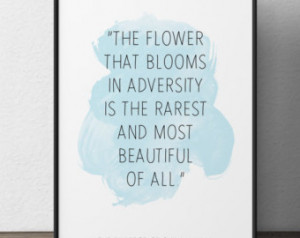 the flower that blooms the emperor of china mulan quote disney quote ...