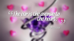 Homepage » Quotes » The Ear Heart Quotes Wallpaper 3113