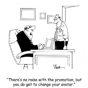 Job Promotion Avatar