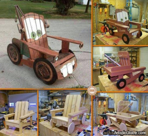 Tow Mater Adirondack Chair