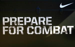 Nike Football Quotes | Prepare for Combat (Photo courtesy of Simone ...