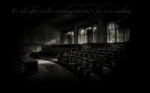 quotes lecture hall chuck palahniuk 1920x1200 wallpaper Knowledge ...