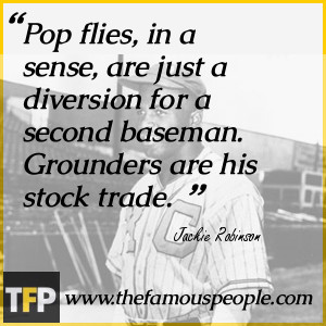 Pop flies, in a sense, are just a diversion for a second baseman ...